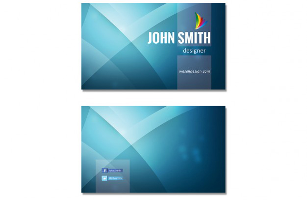 blue-wavy-business-card