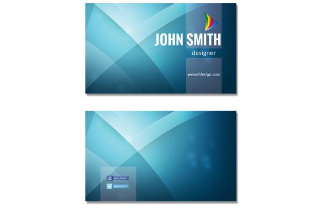 blue-wavy-business-card