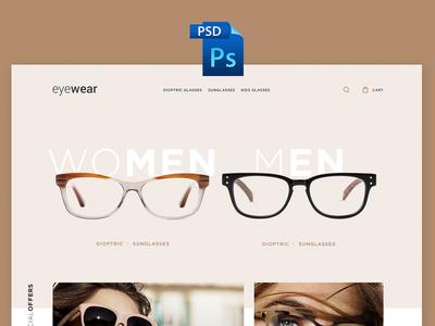 eyewear-psd