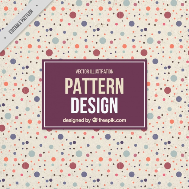 Cute dots pattern