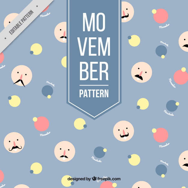 Modern pattern movember