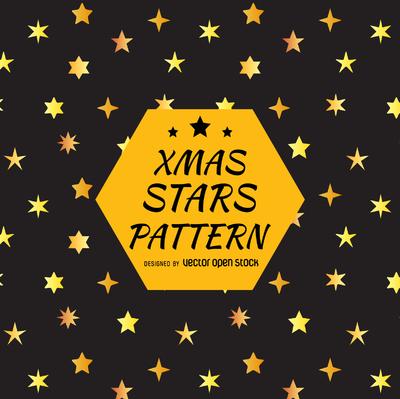 Star silhouette pattern design