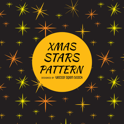 Star sparkles pattern backdrop
