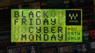 24時間限定!最大90%OFFのWaves Cyber Monday 2016セールスタート!