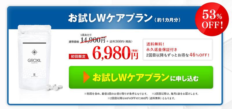 グロキシルサプリメント価格