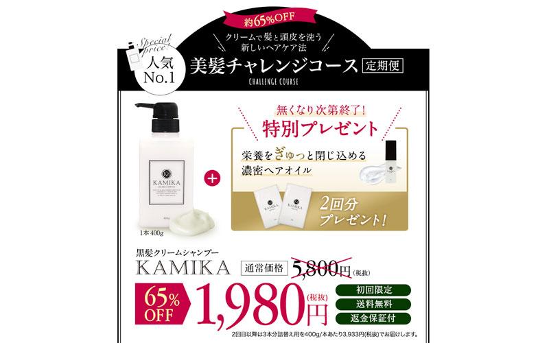 KAMIKA(カミカ)シャンプー価格